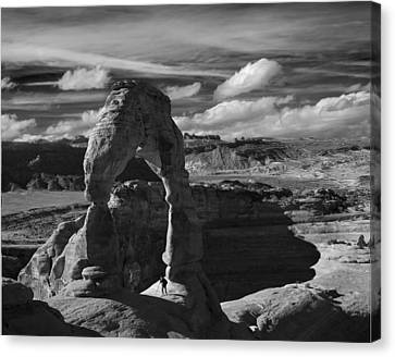 Canvas Print featuring the photograph Delicate Arch by Wendell Thompson