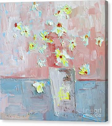 Delicate Daisies Canvas Print by Patricia Awapara