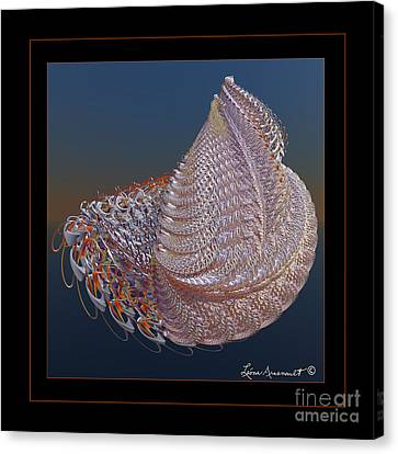 Delicate Wrap Canvas Print
