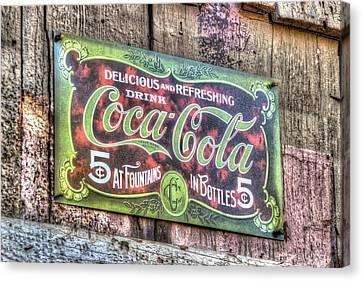 Delicious And Refreshing Canvas Print by Heidi Smith