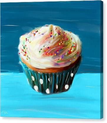 Delightful Sprinkles Canvas Print by Lourry Legarde