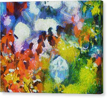 Canvas Print featuring the digital art Delightful Surprise by Joe Misrasi