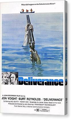 Deliverance Canvas Print by Movie Poster Prints