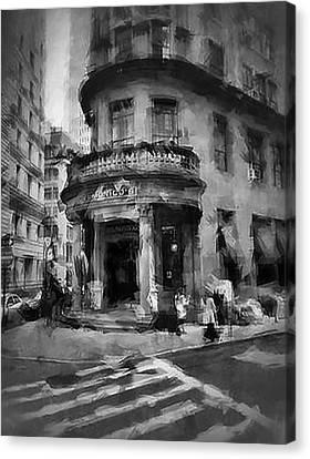 Delmonico's Canvas Print by H James Hoff