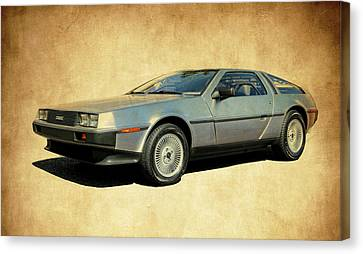 Delorean  Canvas Print by Steve McKinzie