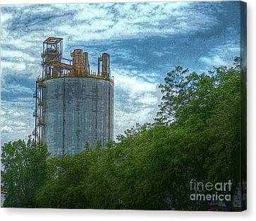 Delray Tower Canvas Print by MJ Olsen