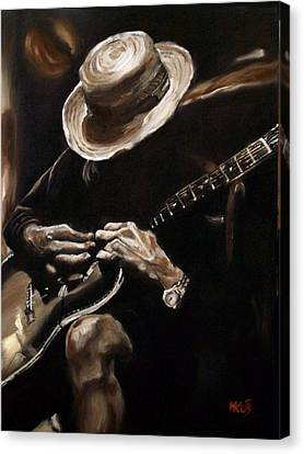 Delta Blues Canvas Print