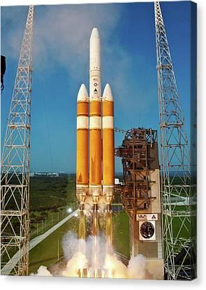 Delta Iv Rocket Launch Canvas Print