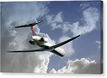 Delta Jet Canvas Print by Brian Wallace