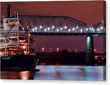 Delta Queen Canvas Print by Frozen in Time Fine Art Photography