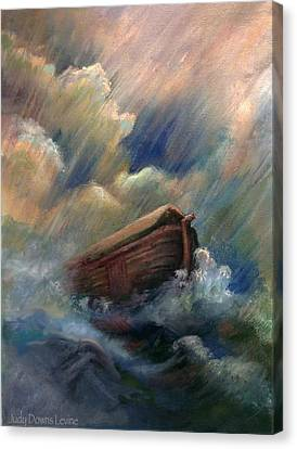 Deluge Canvas Print by Judy Downs