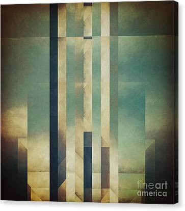 Demagogic Sky Canvas Print by Lonnie Christopher