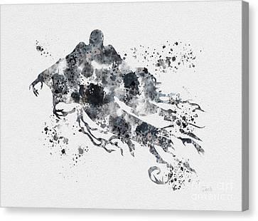 Dementor Canvas Print by Rebecca Jenkins