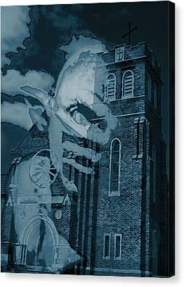 Demoncast Canvas Print