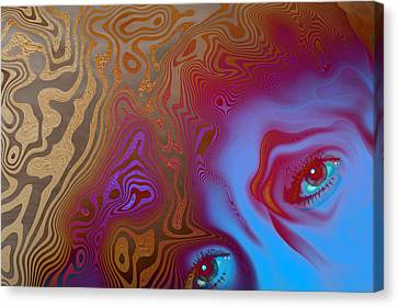 Demons Canvas Print by Carol and Mike Werner
