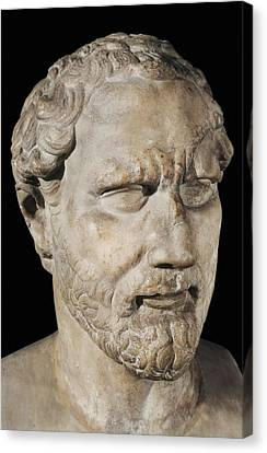 Demosthenes. Ca.  230bc. Roman Copy Canvas Print by Everett