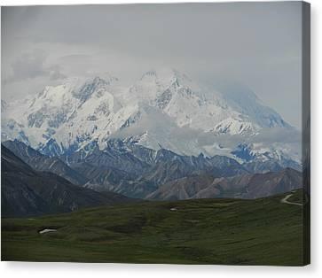 Canvas Print featuring the photograph Denali by Karen Molenaar Terrell