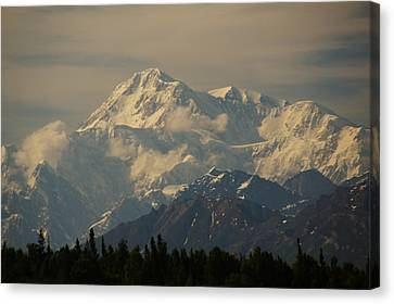 Denali  Or Mt Mckinley Canvas Print