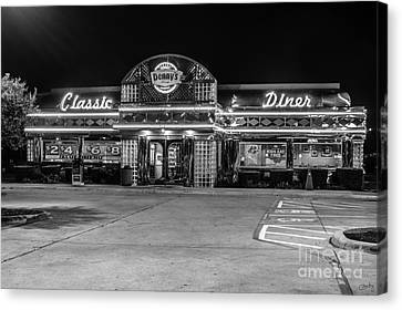 Denny's Classic Diner Canvas Print
