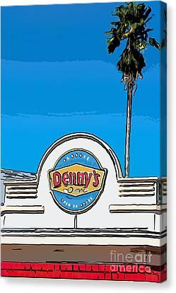 Ports Canvas Print - Denny's Key West - Digital by Ian Monk