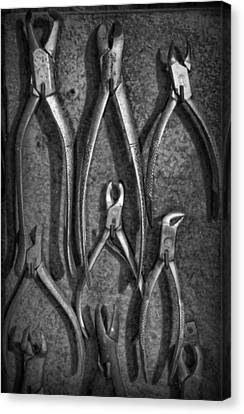 Dentist - Vintage Dental Extracting Forceps II Canvas Print