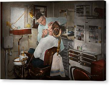 Dentist - The Dental Examination - 1943 Canvas Print
