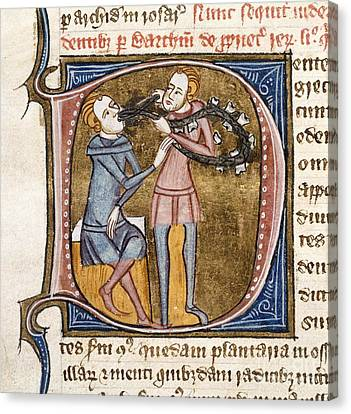 Dentistry, 14th-century Manuscript Canvas Print by British Library