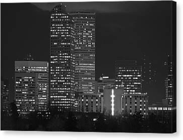 Denver Downtown  Canvas Print