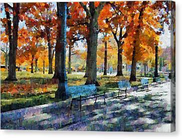 Denver Park 1 Canvas Print