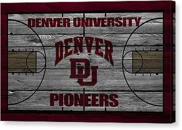 Denver Pioneers Canvas Print