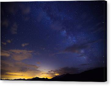 Starry Canvas Print - Denver's Milky Way by Darren  White