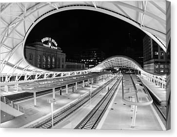 Denver's Union Station Canvas Print