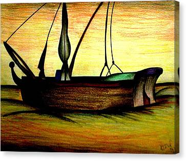 Departed Canvas Print by Ritika  Nair
