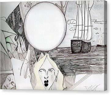 Departure Canvas Print by Dan Twyman