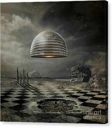 World System Canvas Print - Departure by Franziskus Pfleghart
