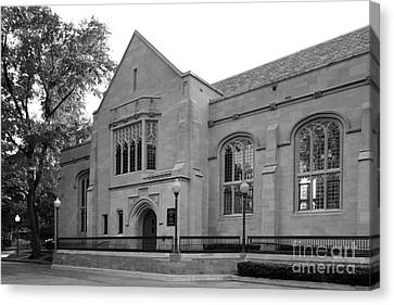 Depaul University Cortelyou Commons Canvas Print by University Icons