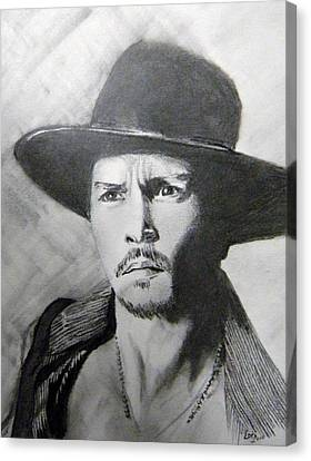 Depp Canvas Print by Lori Ippolito
