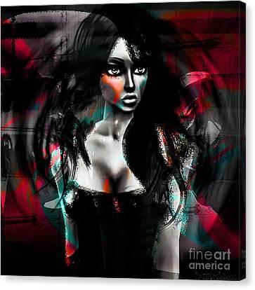 Depraved Of Dreams Canvas Print by Ashantaey Sunny-Fay