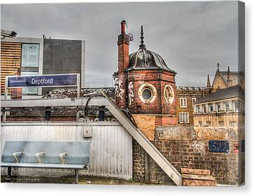 Canvas Print featuring the photograph Deptford Station by Ross Henton