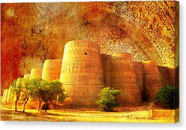 Derawar Fort Canvas Print by Catf