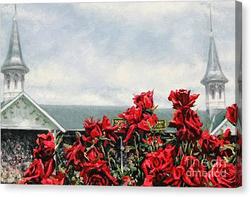 Derby Day Canvas Print by Thomas Allen Pauly