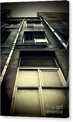 Canvas Print featuring the photograph Derelict Building by Craig B
