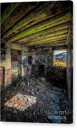 Derelict Cottage Canvas Print