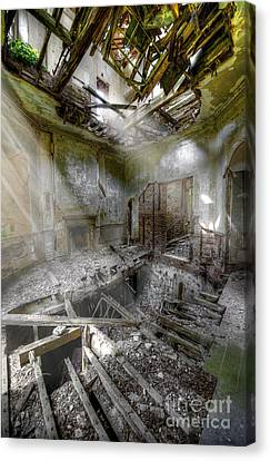 Derelict Room Canvas Print by Svetlana Sewell