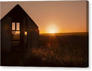 Derelict Shed Canvas Print by Svetlana Sewell