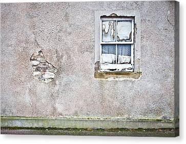 Derelict Window Canvas Print by Tom Gowanlock