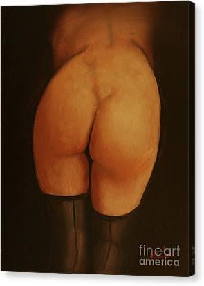 Derriere Canvas Print by John Silver