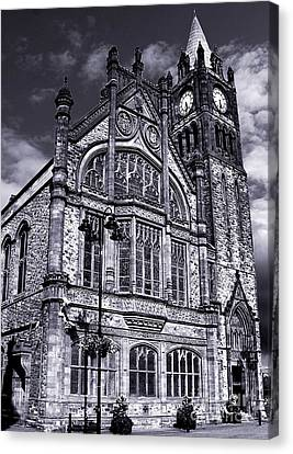 Derry Guildhall Canvas Print by Nina Ficur Feenan