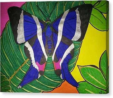 Descansando Canvas Print by Marcia Brownridge