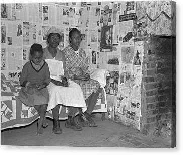 Descendant Canvas Print - Descendants Of Slaves, 1937 by Granger